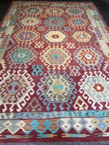 Afghan Kelim 296 x 202 cm